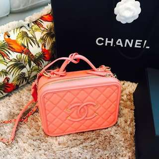 💓Nearly New authentic Chanel Vanity Case 💓