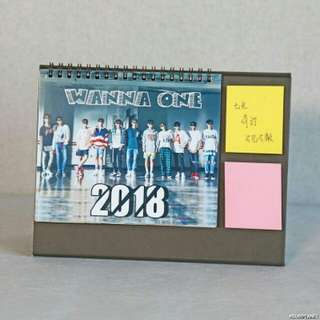 2018 calendar wanna one wannaone
