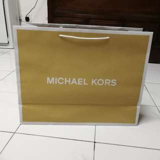 Michael Kors Paper Bag