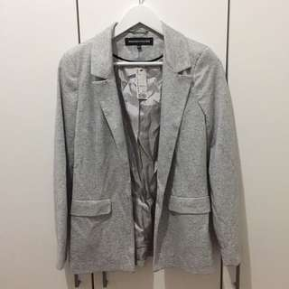 WAREHOUSE CASUAL GREY BLAZER