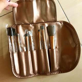 (NEW) PAKET NAKED MAKE UP BRUSH SET, ISI 7 BUAH.