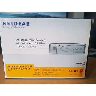Netgear WG111 54 Mbps Wireless USB 2.0 Adapter