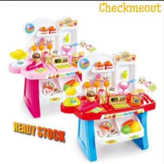 🌈READY STOCK🌈Children Mini Market Educational play