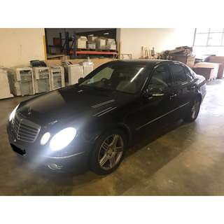 $500 DRIVEAWAY Mercedes-Benz E230 Grab/Uber Usage