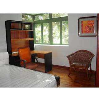 Condo Master bedroom and common room at Yew Tee