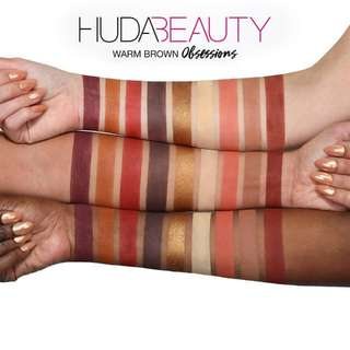Huda Beauty Warm Brown Obsession