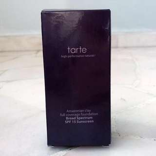 Tarte Amazonian Clay 12-hour foundation SPF 15