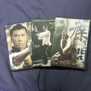 DVD 葉問 1至3  甄子丹