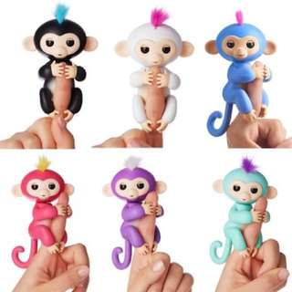 Happy Monkey Interactive Finger Toy