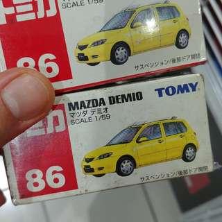 Tomica Mazda Demio