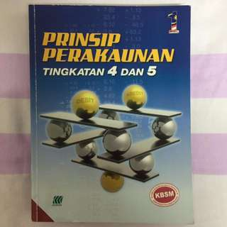SPM Prinsip Perakaunan Textbook