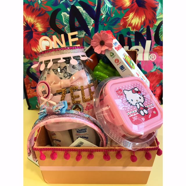 1st Birthday Gift Set In Mason Jar Box Hamper Babies Kids On