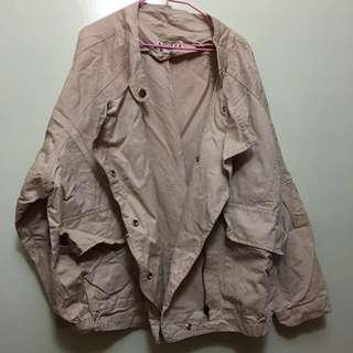 🈚️蝦皮🈚️換貨 九成新 粉色造型外套