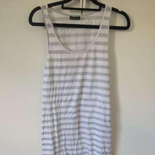 Stripe Singlet Dress