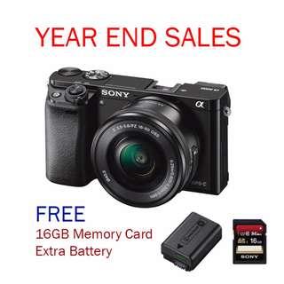 Sony A6000 Kit E PZ 16-50mm Lens (Sony Malaysia)