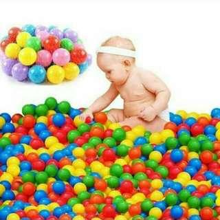 Pre-order/// Colourful mini ball for babyw