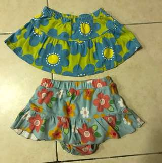 Carter's baby girl skirt 24 months