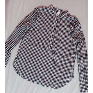 H&M Gingham Polo