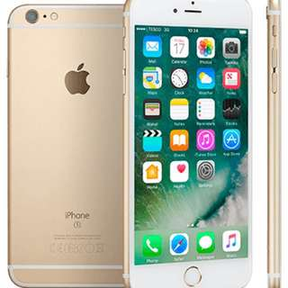 iPhone 6S plus 128Gb Gold 9.9/10 condition