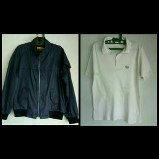 Harrington + Fred Perry T-shirt