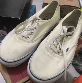 VANS AUTHENTIC BROKEN WHITE 37