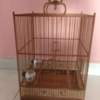 Small Bamboo square cage