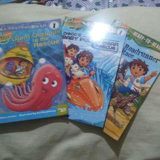 Go Diego Go! Bundle for Early Readers