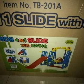 Perosotan ayunan anak kids 4in1 slide