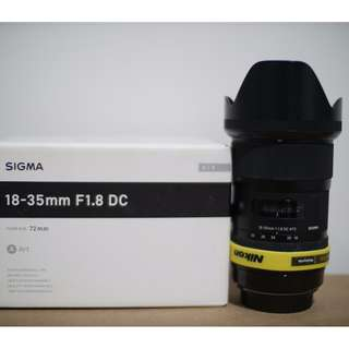 Sigma ART 18-35mm 1.8 (EF) | opt: MC-11 & Metabones Speed Booster XL EF-MFT