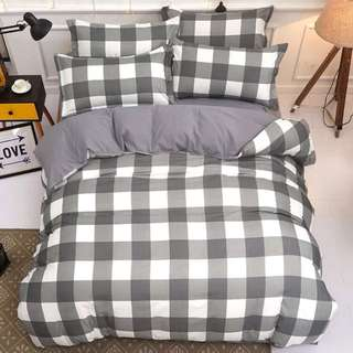 QUEEN WITH QUILT COVER NEW DESIGN BEDSHEET INSTOCKS FAST DEAL FIRST COME SERVE!