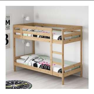 Double bed ikea