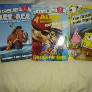 Random Kiddie Movie Books for Readers with help