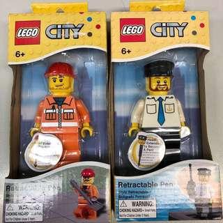 Lego City Retractable Pen 原子筆