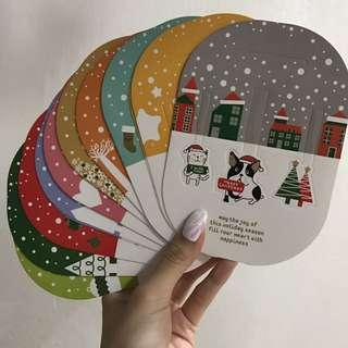 Christmas Animal Gift Greetings Cards
