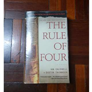 The Rule of Four by Ian Caldwell & Dustin Thomason