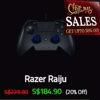Razer Raiju - Gaming Controller for PS4® - AP Packaging. ( Pre-Christmas Sales, Hurry Grab it while Stock last. ) Till 31st Dec 17. New...