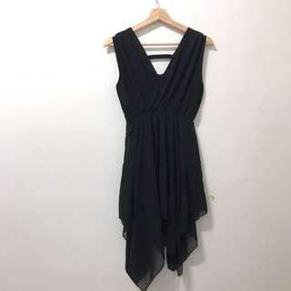 暗黑系不規則洋裝
