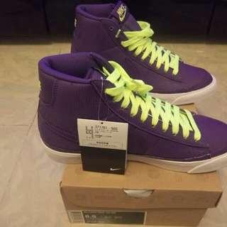 nike blazer purple us 8.5