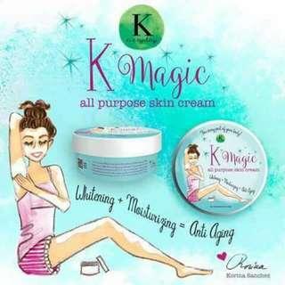 K MAGIC ALL PURPOSE CREAM BY KORINA SANCHEZ