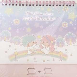 Little Twin Stars 💫2018 Desk Calendar