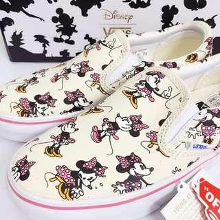 全新Vans Minnie Mouse Slip on