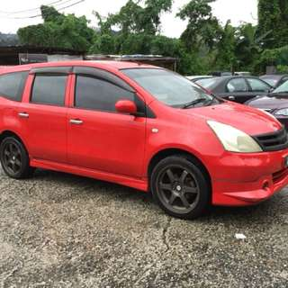 NISSAN GRAND LIVINA 1.6 (A) year 2009  Loan kedai/kredit 100% approved Cris/ctos/blacklist/cash salary/ptptn Dp + processing rm #pm_tepi⬇️🤙🤙🤙 Estimate rm570, 6 yrs #negotiable Fast Deal & Approval Trade in accept Call/whatsapp  0134305787