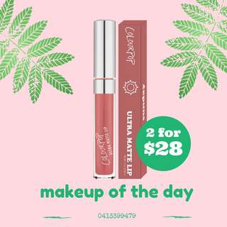 AUTHENTIC COLOURPOP ULTRA MATTE LIPSTICK