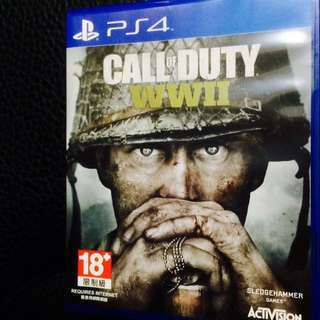 PS4 Call of Duty WWII二戰最新作