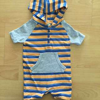 Cotton On Baby Hoodie Romper