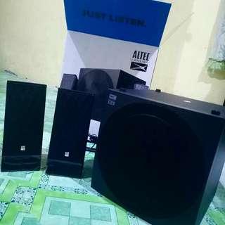 BRAND NEW Altec Lansing Lozenge BT+ Bluetooth 2.1 Multimedia Speaker System