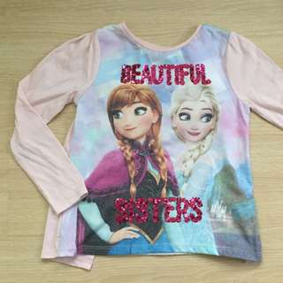 Disney Frozen Sisters L/Sleeve Top