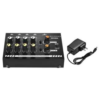 N-Audio 8 Channels Mixer with Power Adapter