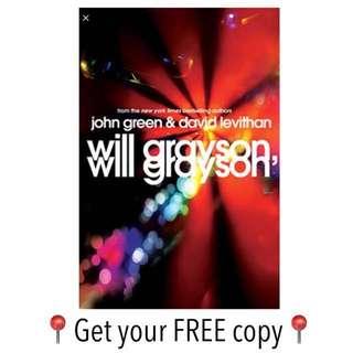 #FREE Ebook Will Grayson, Will Grayson John Green
