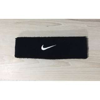 Nike swoosh headband black